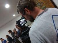 Técnicas de vídeo Foto: Ana Patrícia Arantes