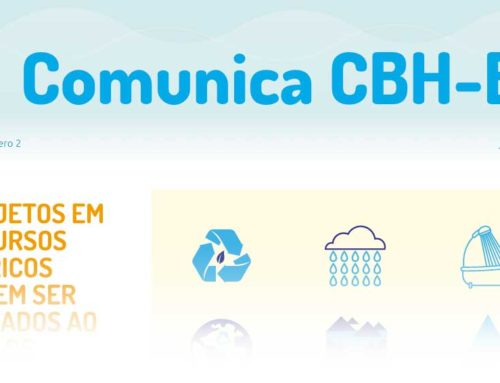 Crise hídrica, eleições para o Comitê de Bacias da Baixada Santista, projetos sobre recursos hídricos são algumas das informações  do COMUNICA CBH BS .