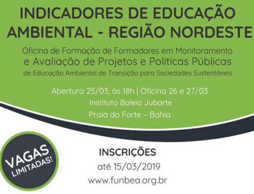 Anppea seleciona 63 representantes da região nordeste para oficina sobre indicadores de monitoramento de políticas de Educação Ambiental